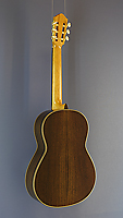 Angelo Vailati classical guitar, spruce, rosewood, year 2017, back