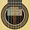 Daniele Chiesa classical guitar spruce, ciricote, scale 65 cm, year 2019, rosette, label