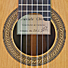 Daniele Chiesa classical guitar cedar, ciricote, scale 65 cm, year 2015, rosette, label