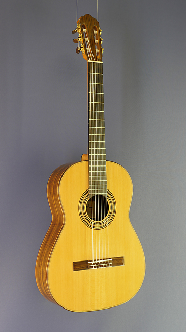 Dominik Wurth classical guitar with short scale 64 cm , cedar, rosewood, year 2016