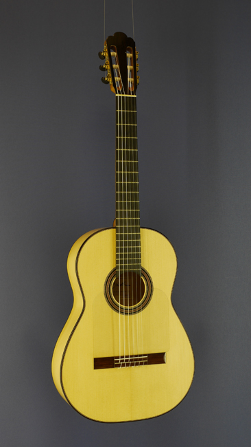 Dominik Wurth Flamenco guitar spruce, cypress, year 2014