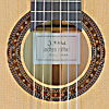 Jochen Rothel classical guitar cedar, cypress, year 2020, rosette, label