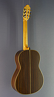 José Marin Plazuelo classical guitar spruce, rosewood, scale 65 cm, year 2017, back side